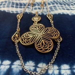 🍀 Lucky Brand Antique Look Necklace